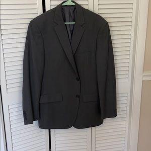 Heather gray men's jacket